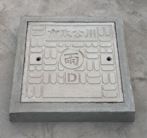 通辽水泥方形井圈井盖